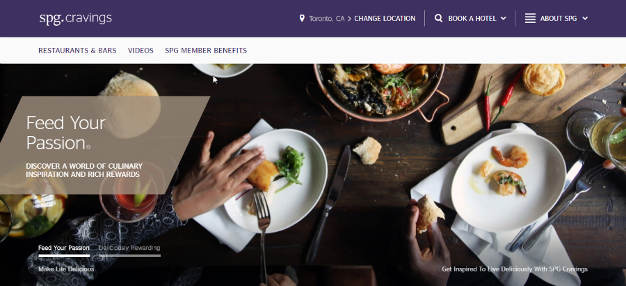 SPG Cravings front page