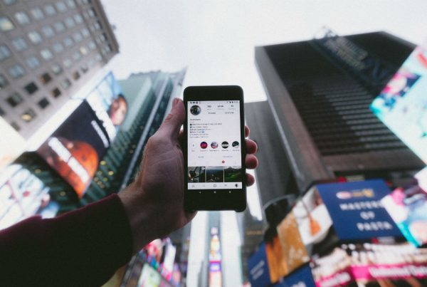Smartphone in New York